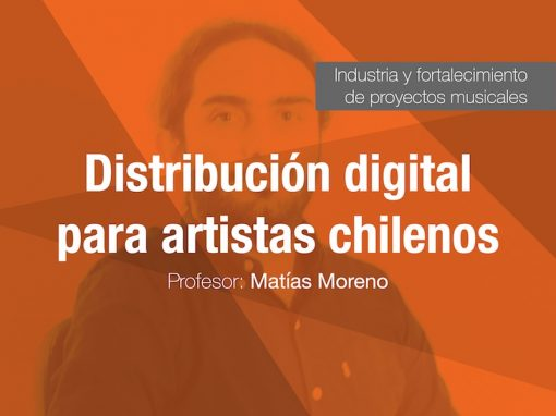 Distribución digital para artistas chilenos